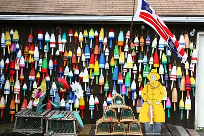 Buoy Shop Maine, USA