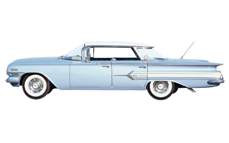 083  1960 Chevrolet Impala Sport Sedan