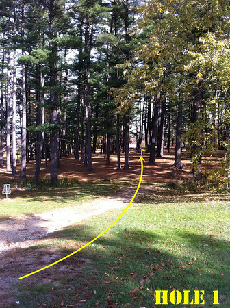 Amesbury Pines Disc Golf Course