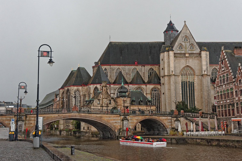 Sint-Baafskathedraal, aka St. Bavo's.  Dates from 1274 AD.  No longer a church but hosts community events.