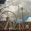 Ferris wheel  in the main square.