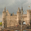 Steen Castle, oldest building in Antwerp.  On the river, dates from 11th Century.