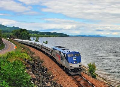 Amtrak Adirondack, Port Henry NY