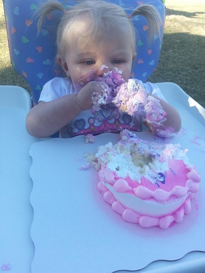 Amy first birthday