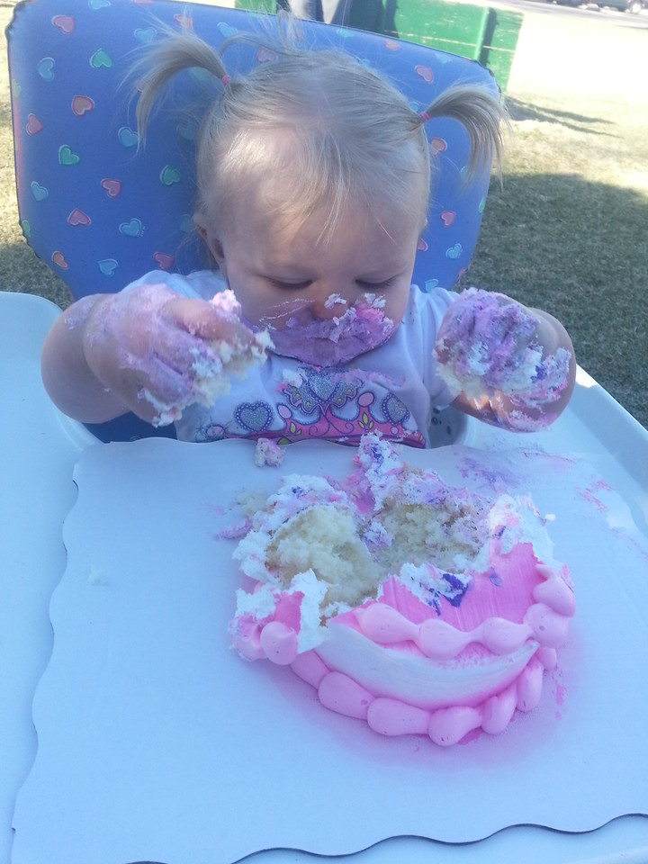 Amy first birthday