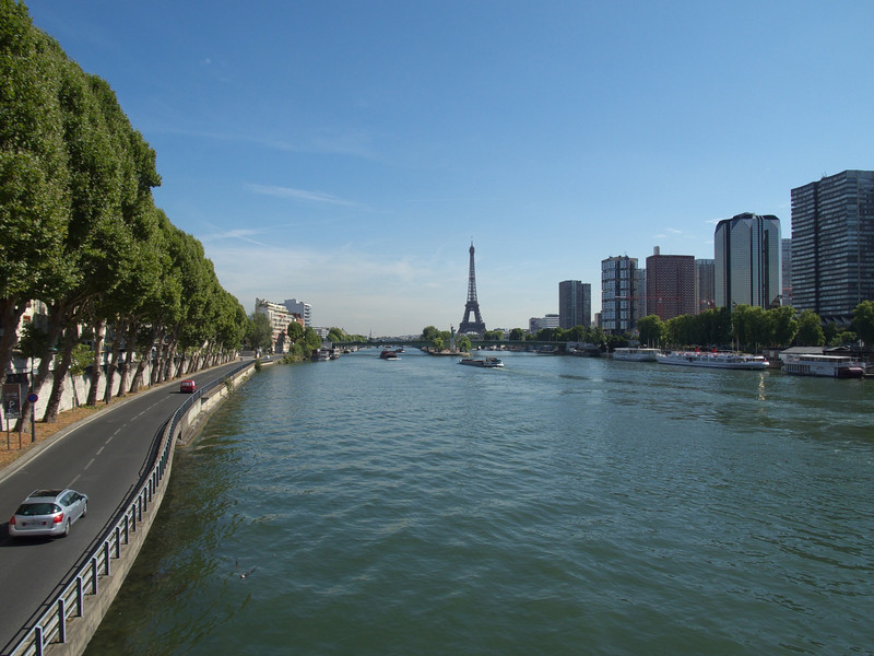 the Seine & the Eiffel Tower, every day