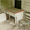 Porch Furniture -- Abandoned House, Alleghany County