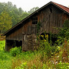 Barn on North Fork of the New River, Alleghany County, NC