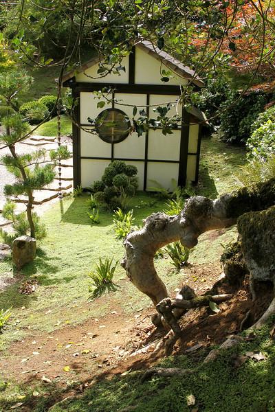 The Tea Garden (detail).