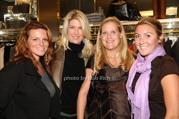 Kari Talley, Flo Fulton, Tantivy Bostwick, Lindsey Wheat<br /> photo by Rob Rich © 2009 robwayne1@aol.com 516-676-3939