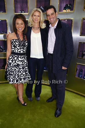 Alina Cho, Krista Kreiger, Adam Reiss<br /> photo by Rob Rich © 2009 robwayne1@aol.com 516-676-3939