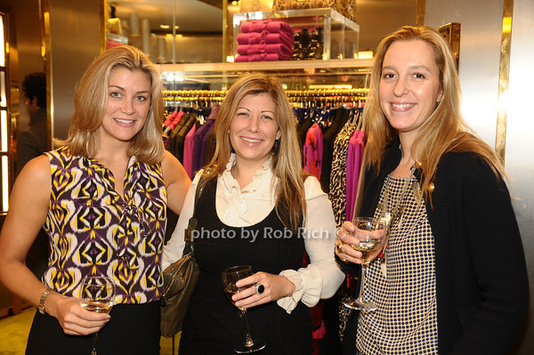 Miki Berardelli, Susie Draper, Stephanie Von Watzdorf<br /> photo by Rob Rich © 2009 robwayne1@aol.com 516-676-3939