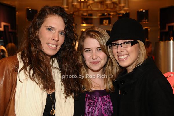 Emily Kammeyer, Julia Lovallo, Nancy Schueneman<br /> photo by Rob Rich © 2009 robwayne1@aol.com 516-676-3939