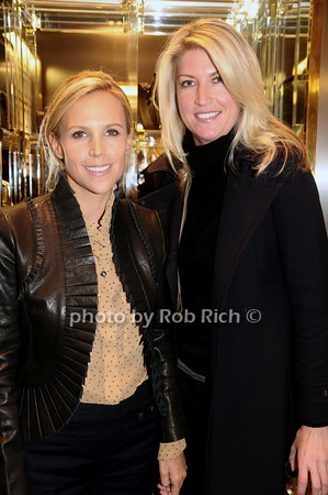 Tory Burch, Flo Fulton<br /> photo by Rob Rich © 2009 robwayne1@aol.com 516-676-3939