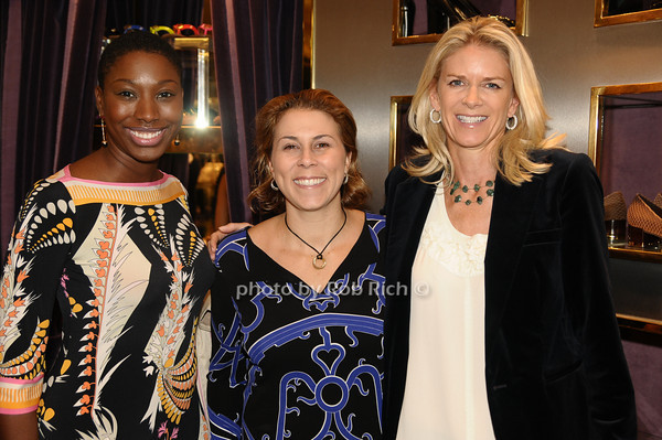 Tina Bernard, Kim Many, Krista Kreiger<br /> photo by Rob Rich © 2009 robwayne1@aol.com 516-676-3939