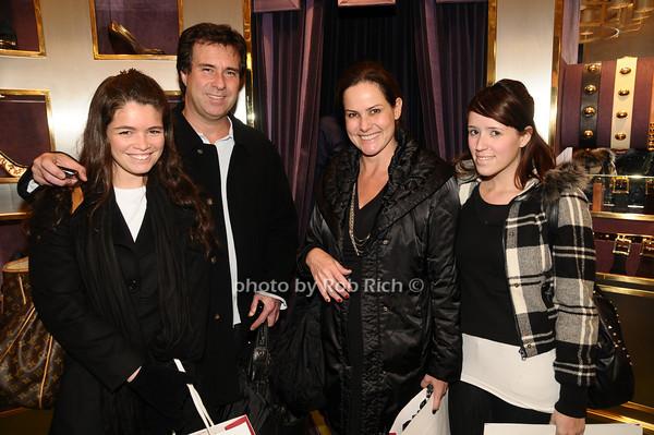 Juliana Vrijajao, Gustavo Vrijajao, Renata Derivelli, Marcela Derivelli <br /> photo by Rob Rich © 2009 robwayne1@aol.com 516-676-3939