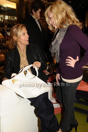 Tory Burch, Wylie Westerbke<br /> photo by Rob Rich © 2009 robwayne1@aol.com 516-676-3939
