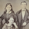Turns out the FATHER's (Joseph Spurgin - spelling changed somewhere after this . . .) younger brother married the MOTHER's younger sister!!  They ALL 4 came from NC and married in MO!
