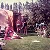 Familie Merhottein op camping 'De Flaasbloem' in Chaam
