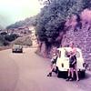 In het Cervo dal met onze ruilauto: een Renault 4.