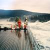 Vanuit Lulea: Storfossen watervallen