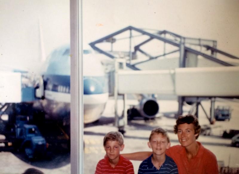 27 juni 1986 -  KL673 naar Montreal
