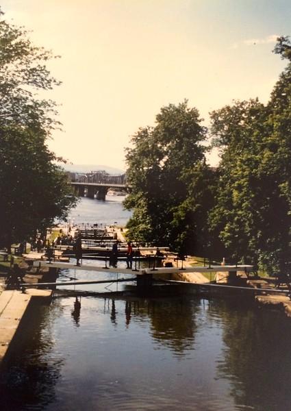 Rideau kanaal in Ottawa