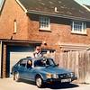 Wonungruil Brighton 31 mrt - 10 apr 1988 : Ruilauto Saab 900