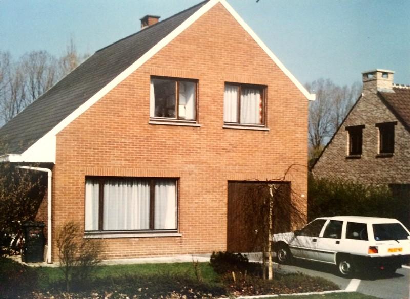 Pasen 1989: Ruilhuis in Steenokkerzeel nabij vliegveld Saventem bij Brussel