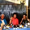 Bij Willy en Gerard Mooyman, vrienden v.d. Benjamins