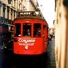 In oude stad van Lissabon