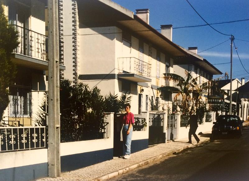 827 april 1991: Gehuurde woning in Casais Novo, nabij Villa Franca