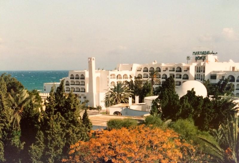 24 dec 1991 - Tunesië: Hotel Marhabba in Sousse