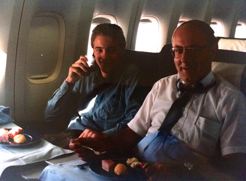 17 juli 1993 - KL651 Royal Class naar Washington DC.