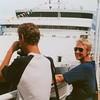 Overbuurjongen Frank v.d. Kaai was aan boord als derde stuurman...