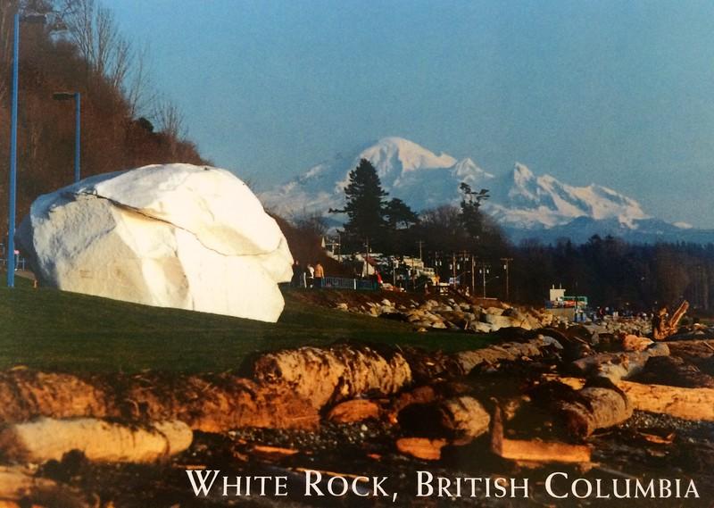 28 juli 1995: Woningruil in White Rock, Canada BC.
