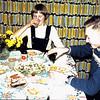 1958 - Piet en Ria oudejaarsavond 1958