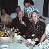 1959. Opa en oma Brand 50 jaar getrouwd. <br /> Ria's moeder, opa en oma Brand, Ria, oom Piet Hein en tante Tia.