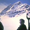 1960 80 Uitzicht op de  Aletschhorn vanaf Jungfraujoch