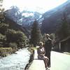 1960 45 Langs de Kander in Kandersteg