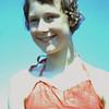 1960 Ria's nieuwe badpak voor de vakantie 8 mei '60.