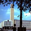 1966 Het nieuwe gemeentehuis in Velsen.