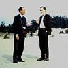 1961 Kootwijk, Jan en René.
