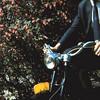 1962 René op de mobilette.