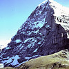 1962 06 De Eiger vanaf Kleine Scheidegg