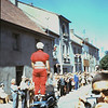 Het tourcircus rijdt door Toulon.