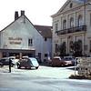 Centrum van Toulon sur Arroux.