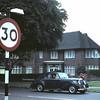 1968 05. Het tweede au pair huis aan de East Finchley Road.