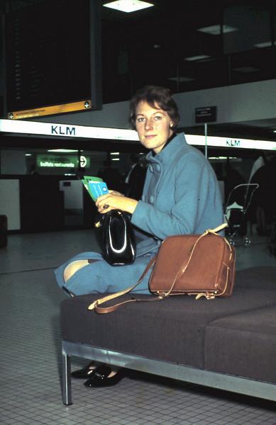 1967 01 September, vertrek naar Londen.