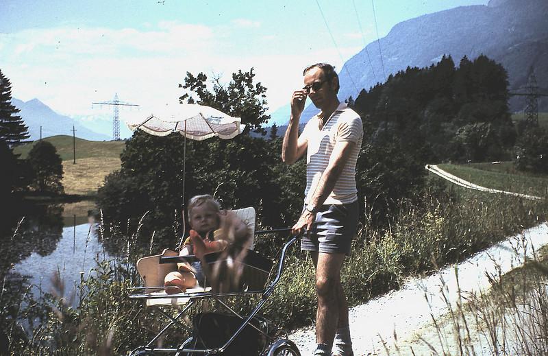 1975 - Emile en René in Tirol